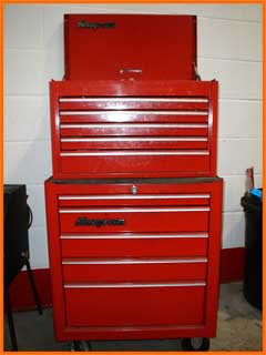 One of our tool chests
