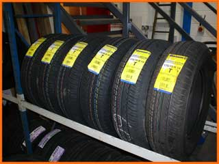 Tyres always in stock