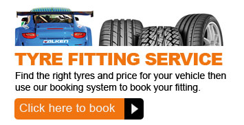Book your tyre fitting service